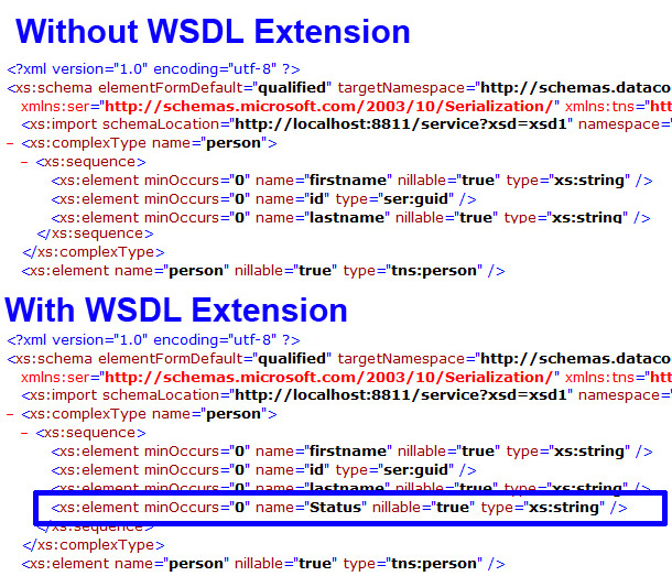 WSDL Export