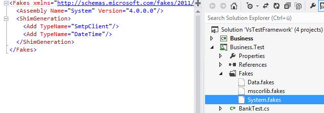 VS.NET Shim